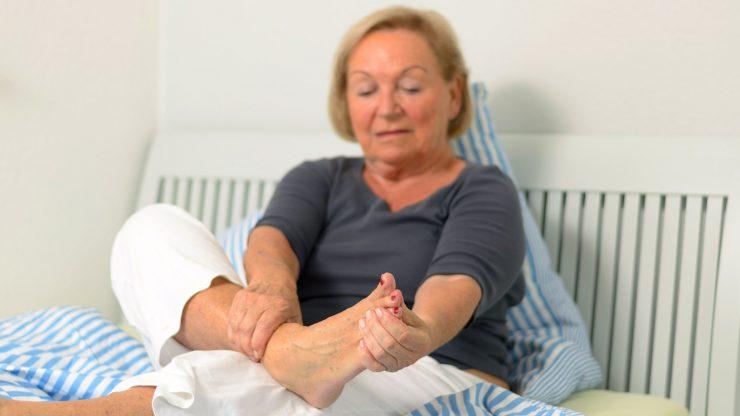 علت درد پای چپ در زنان